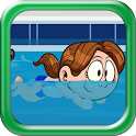 Boring School Swimming Workout icon