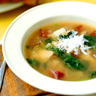 Chicken and Escarole Soup with Fennel