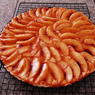 Cream Cheese Peach Tart Recipe