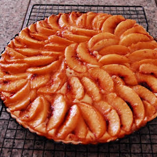 Cream Cheese Peach Tart.
