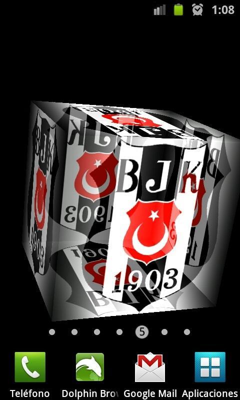 Cep Beşiktaş 3D Live Wallpaper Resimler