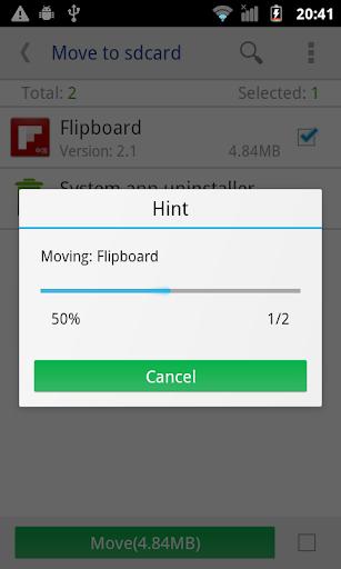 Move app to SD card 3.9 screenshots 2