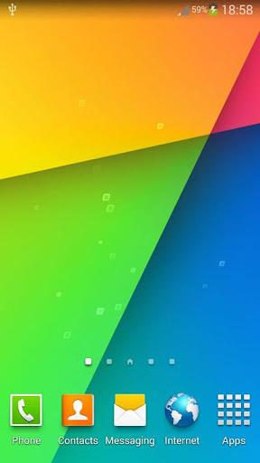 Nexus 7動態桌布