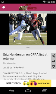GrizSports- screenshot thumbnail