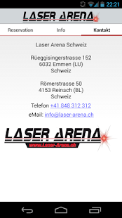 Laser Arena App- screenshot thumbnail