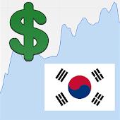 US Dollar Korean Won Rate