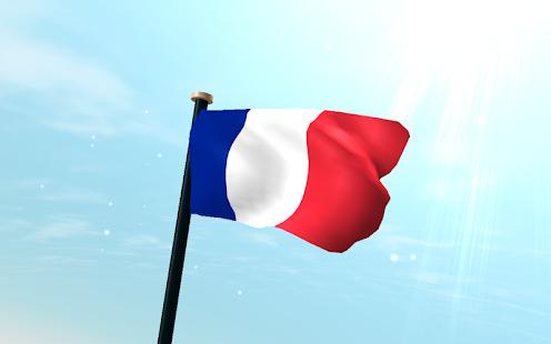 france flag 3d free wallpaper apps on google play
