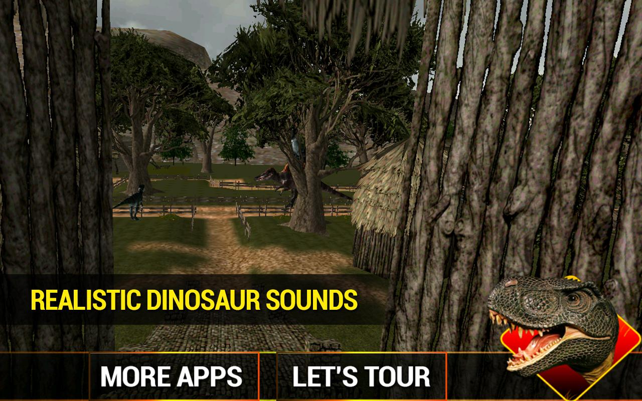 Dino Tours VR- screenshot