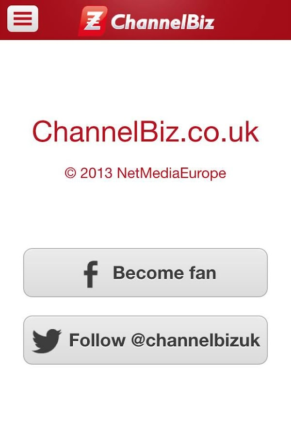 ChannelBiz.co.uk- screenshot