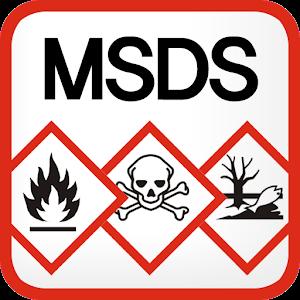 MSDS(물질안전보건자료) 아이콘