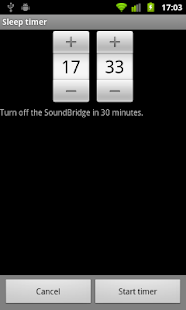 Remote for SoundBridge - screenshot thumbnail