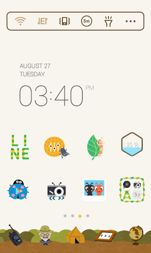 Insect Collection dodol theme