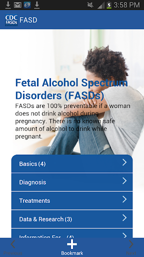 CDC FASD