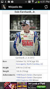 Dale Earnhardt Jr. - screenshot thumbnail