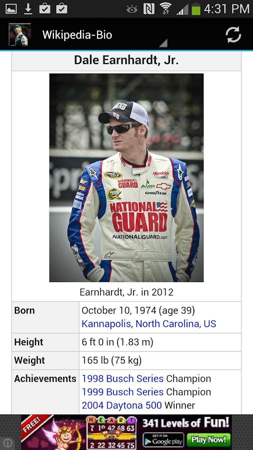 Dale Earnhardt Jr. - screenshot