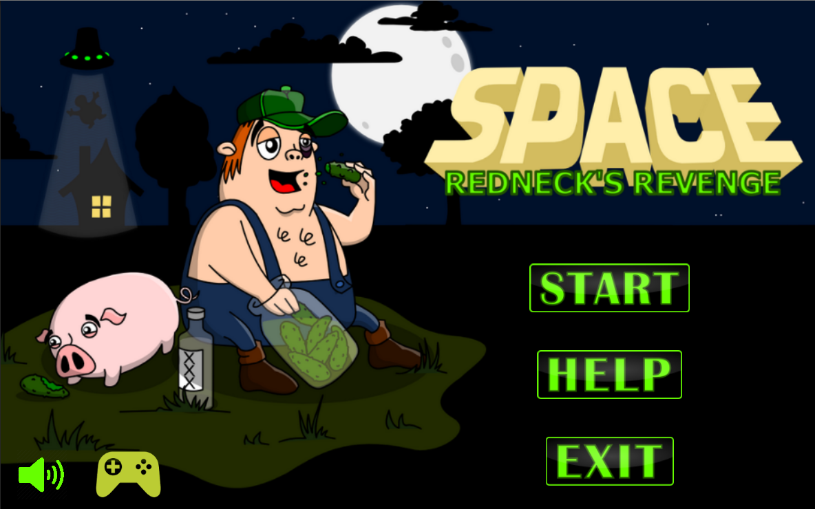 Space: Redneck's Revenge- screenshot