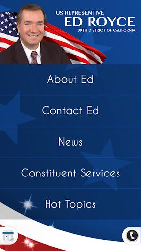 U.S. Representative Ed Royce