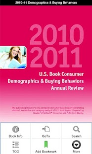 2010–11 Consumer Demographics- screenshot thumbnail