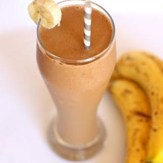 Dairy-Free Chocolate Banana Shake