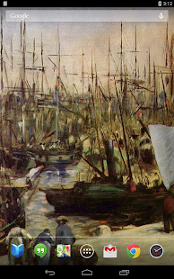Édouard Manet Live Wallpaper - screenshot thumbnail