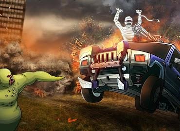 Monster Car Hill Racer Screenshot 11