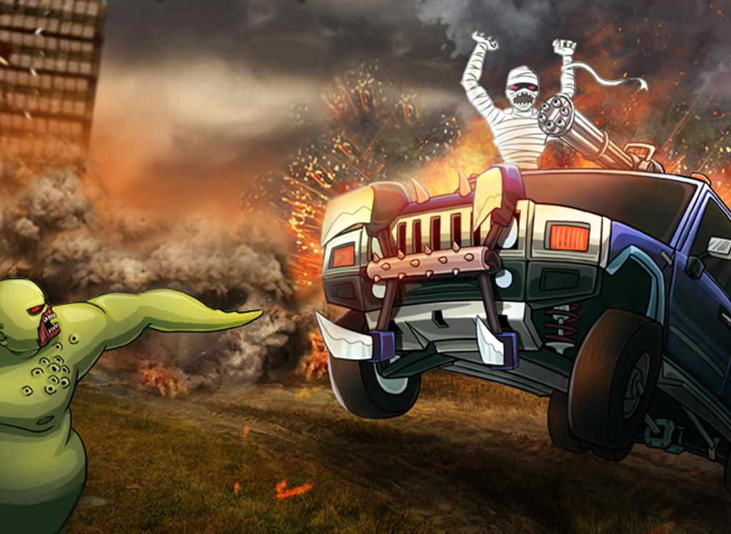 Monster Car Hill Racer Android Apps On Google Play