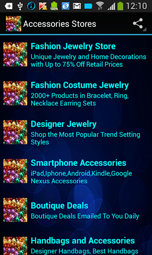 Accessories Mobile Stores
