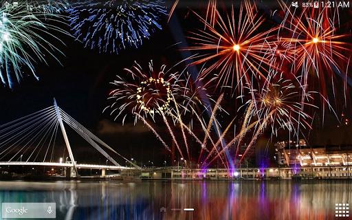 Fireworks Live Wallpaper 2018 1.2.1 screenshots 23
