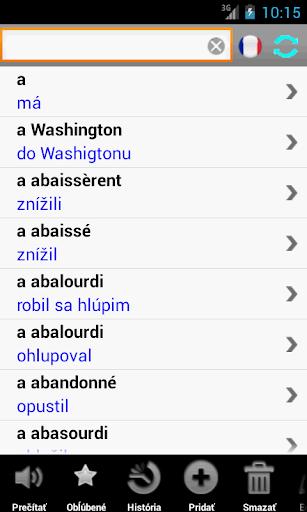 Francúzsky slovník SK PCT+