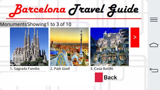 Barcelona Travel Guide 1.0 screenshots 6