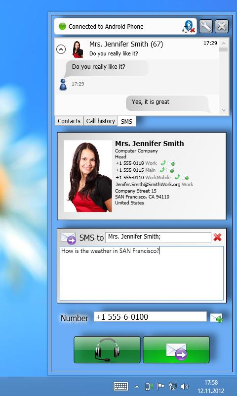 Remote Phone Call- screenshot