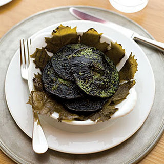 Grilled Portobello Mushrooms with Tarragon-Parsley Butter