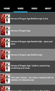 Heros of Dragon Age Top Guide