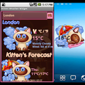 Kitten  Weather Widget