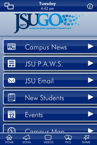 Jackson State University - screenshot
