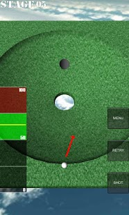 One Shot Putting Golf- screenshot thumbnail
