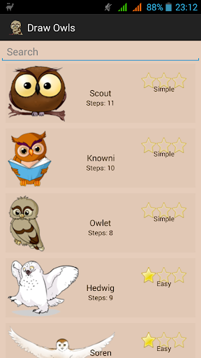 How To Draw Owls Eagle-owls