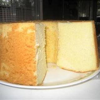 Coconut Chiffon Cake.