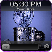 3D Lighter GO Locker Theme