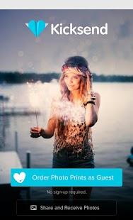 Kicksend: Senden Sie Fotos Screenshot
