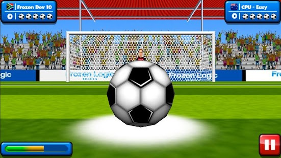 [Soccer Penalty Kicks] Screenshot 1