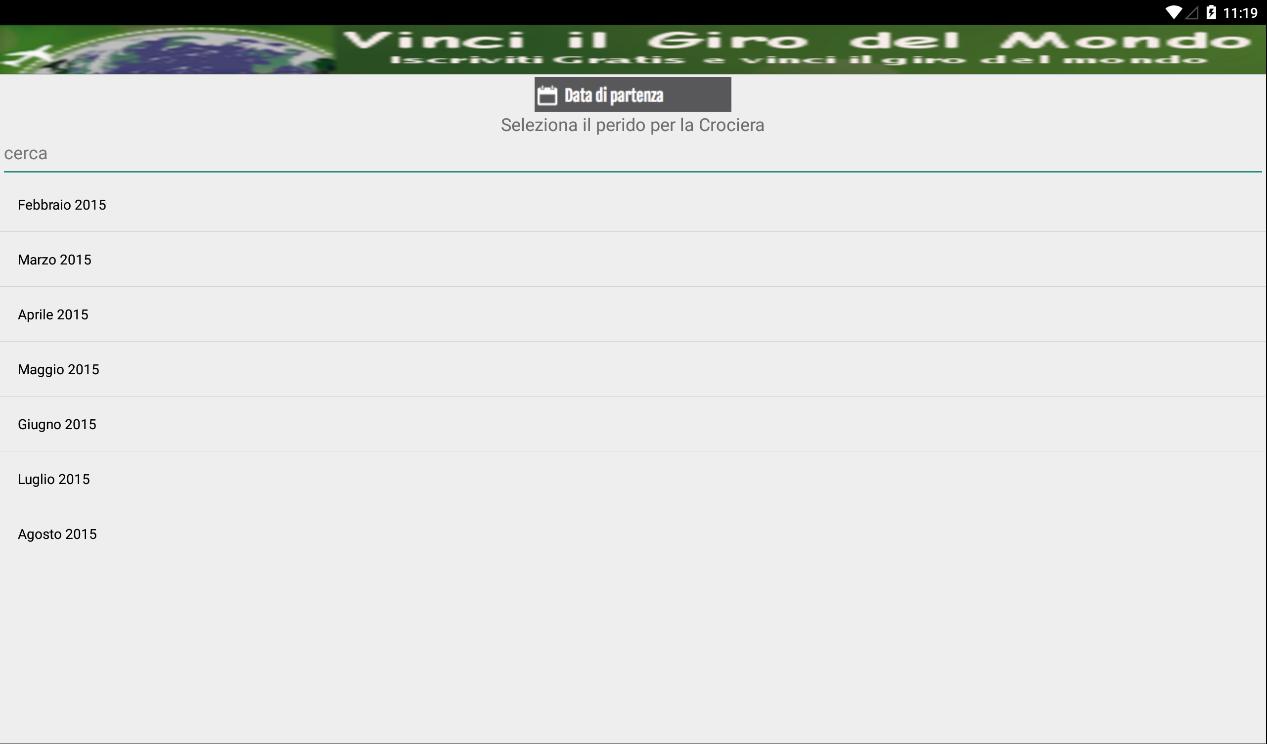Crociere Scontate, offerta - screenshot