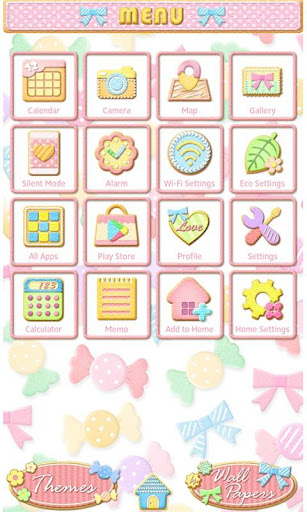 Cute Wallpaper Candy Icing 1.0 Windows u7528 2