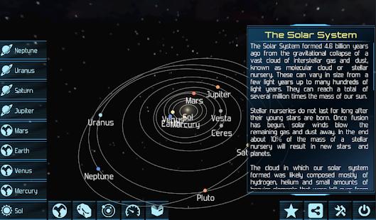 Solar System Explorer HD Pro - screenshot thumbnail