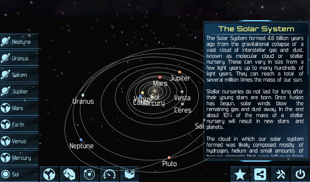 Solar System Explorer HD Pro - screenshot