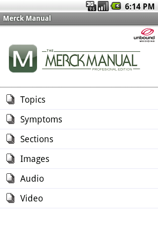 the merck manual go to home guide for symptoms
