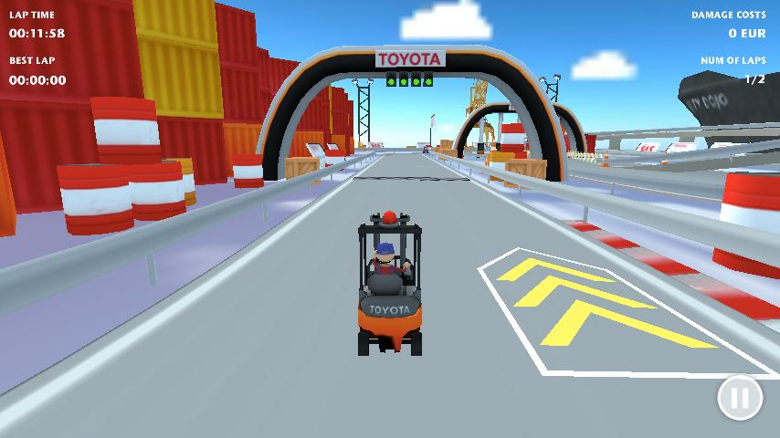 Forklift Challenge - screenshot