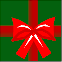 Christmas candy cane drop game logo