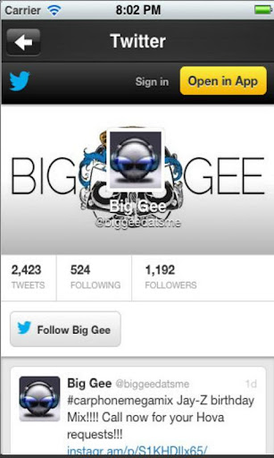 玩免費音樂APP|下載DJ BIG GEE app不用錢|硬是要APP