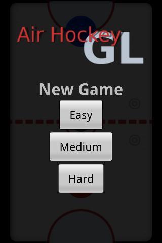 AirHockey GL- screenshot